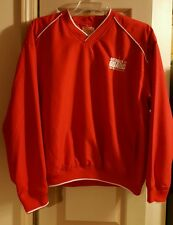National Guard Red Jacket Pullover Mens Size Medium