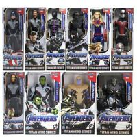 Marvel Avengers Endgame Action Figure Toy Titan Hero Series Collection Iron Man