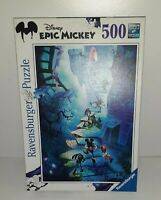 Disney Epic Mickey 500 Piece Jigsaw Puzzle Ravensburger 2012 Mickey Mouse (690)