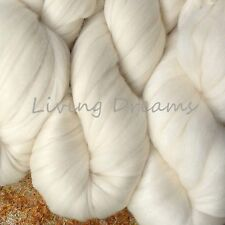 Elegance SILK MERINO Luxury Super Bulky Yarn SOFT QUICK KNIT Living Dreams IVORY