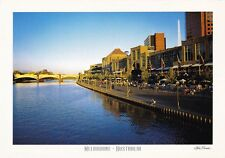 EXTRA LARGE 17x12cm AUSTRALIAN COLOUR POSTCARD Melbourne City by Steve Parish