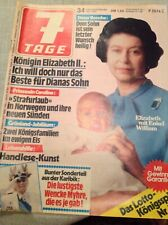 - 7 Tage  18. August. 1982.