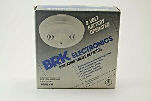 Vintage BRK Smoke Detector 1994 Electronics 9 Volt Home Fire Model 83R Rare