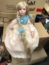Top Zustand Dolls Ute Kase Lepp Vinyl Puppe 65 Cm