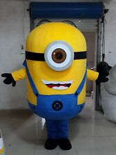 New Minions Despicable Me Mascot Costume EPE Fancy Dress Outfit Adult 09