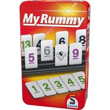 Schmidt Spiele My Rummy Metalldose Reisespiel Kartenspiel Legespiel Rummikub