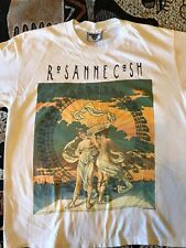 Vintage Rosanne Cash The Wheel Concert Tour 1993 Lee L Large Shirt Americana