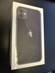 Brand New Sealed Apple iPhone 11 64GB Factory Unlocked Black - MWL72LL/A