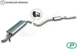 Endschalldämpfer FIAT SEICENTO 1.1 Schrägheck 1998-2004 Endtopf Montagesatz