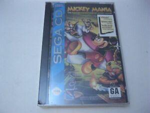 Mickey Mania new sealed Sega CD
