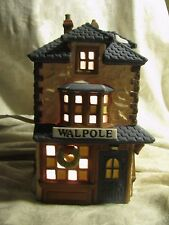 2 Dept 56 Dickens' Village Houses Walpole Talor and Old Curiosity Shop