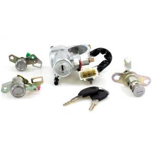 Ignition Door Trunk Lid Lock Fit 94-00 Nissan Cefiro A32 Maxima QX  Infiniti I30