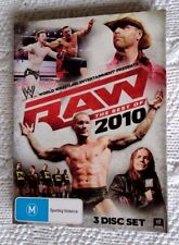 WWW RAW THE BEST OF 2010 (DVD, 3-DISC SET) R-4, LIKE NEW, FREE SHIPPING