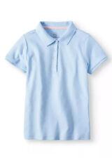 Wonder Nation Girl Short Sleeve School Uniform Polo Shirt XS (4-5)
