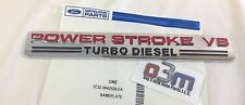 2003 - 2004 Ford Super Duty Powerstoke V8 NAMEPLATE Emblem OEM 3C3Z-9942528-DA