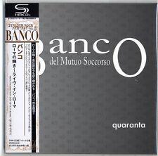 BANCO-PROG EXHIBITION 2010 LIVE IN ROME: QUARANTA-JAPAN MINI LP SHM-CD F83