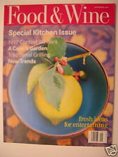 Food & Wine Magazine - September 1997