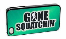 New Reflective GONE SQUATCHIN' I Phone 4 4s  Big Foot Sasquatch Cover Case Skin