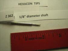 """Hexacon Z 362 X soldering tip, 1/8"""" diameter"""