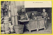 cpa Dos 1900 Editeur Planté à SAÏGON EPICIER CHINOIS CHINESE GROCER KRUIDENIER
