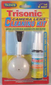 Digital Camera Camcorder Optical Lens Cleaning Kit  Brush Blower Cloth Fluid
