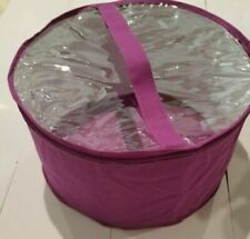 Large hat box Lavender