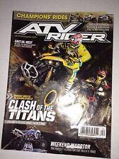 ATV Rider Magazine Renegade 1000 X Xc Vs Scrambler March/April 2013 040117NONRH