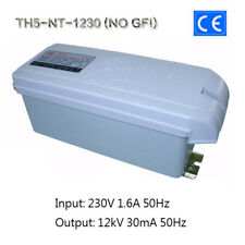 12KV30mA360W CE Neon Iron Core Coil Power Supply Tesla Test Transformer NO GFI