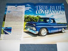 """1964 Chevy C10 Pickup Truck Article """"True Blue Companion"""" SWB Short Bed"""