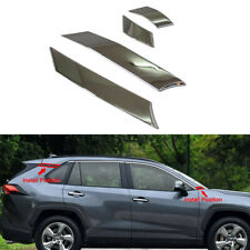 Pillar Posts Door Trim Window Cover For Toyota RAV4 2019+ Protector Accessories