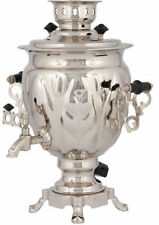 Traditional Russian Electric Samovar | 3 Litres | Tea Kettle Heater Boiler