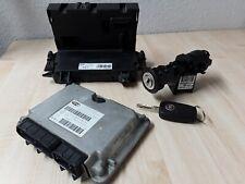 Fiat Panda 1,2 Motorsteuergerät 6160112703 S118578030I Zündschloss 00468453610