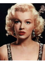 Sexy Photo 8.25x11.75 A4 Marilyn Monroe Very Close Up Portrait #080
