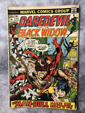 Daredevil #95 Black Widow Man-Bull Man Marvel Comics 1973 Colan & Lee