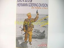 1/16 WWII German SIGNALER HERMANN GOERING DIVISION (Tunisia 1943) Dragon 1608