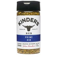 Kinder's Rub Prime Rib