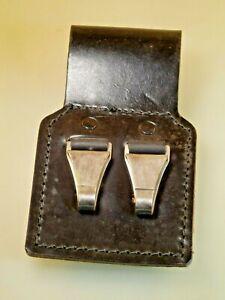 Holster Leder Gürtelaufnahme Koppel