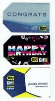 Best Buy Gift Card - LOT of 3 Older - Celebra el futbol / soccer - No Value