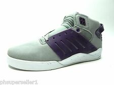 SUPRA SKYTOP III GREY PURPLE WHITE MEN SHOES SIZE 12