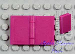 NEW Lego Minifig Dark PINK BOOK - Magenta Belville Elf Friends 2x3 Diary Story