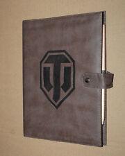 World of Tanks Warships Leder-Notizbuch / Notepad / Notebook Rare Gamescom