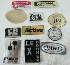 Drum Badges - Chinese Brands / Products, Mapex, Stagg, Sonor, Sonix, CB, Hohner