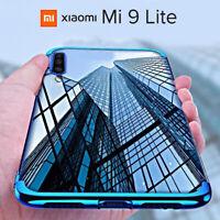 COVER per Xiaomi Mi 9 Lite CUSTODIA ELECTRO CASE + PELLICOLA VETRO TEMPERATO 9H