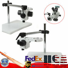 76mm Lab Boom Stereo Stand Table Multi Axis Rotation Microscope Focusing Holder