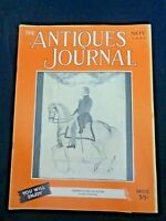 1951 Antiques Journal Wedgwood Cameos Buttons Jenny Lind Portrait Bottles Quilts