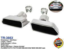 Exhaust tips BMW F10 F11 F12 F13 535i 535d 640i 640d '550i-650i Style'