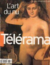 "telerama n°2637 bebel gilberto tiziano scarpa ""l'art du nu"" john woo tom cruise"