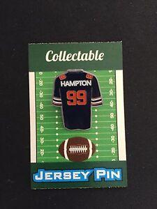 Chicago Bears Dan Hampton lapel pin-Retro Collectable-#1 Best Seller/Gift Item
