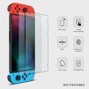 2x Nintendo Switch 9H Panzerfolie Schutzglas Displayschutzfolie Hartglas Glas