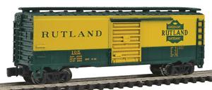 "N Gauge Bachman ""Silver Series""-70079-Rutland ""Green Mt. Gateway"" 40' Box Car"